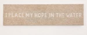 I place my hope
