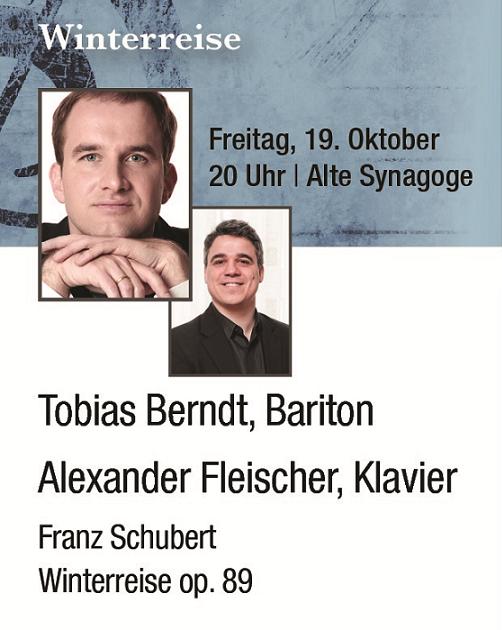 2. Hirschberger Liedfest ______________________ Winterreise @ Alte Synagoge Hirschberg | Hirschberg an der Bergstraße | Baden-Württemberg | Deutschland