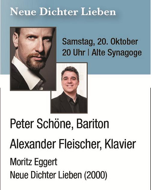 2. Hirschberger Liedfest _________________________ Neue Dichter Lieben @ Alte Synagoge Hirschberg | Hirschberg an der Bergstraße | Baden-Württemberg | Deutschland