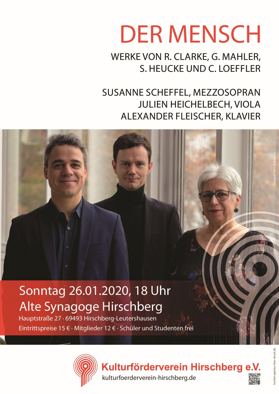 Konzert __________________________ Der Mensch @ Alte Synagoge Hirschberg | Hirschberg an der Bergstraße | Baden-Württemberg | Deutschland