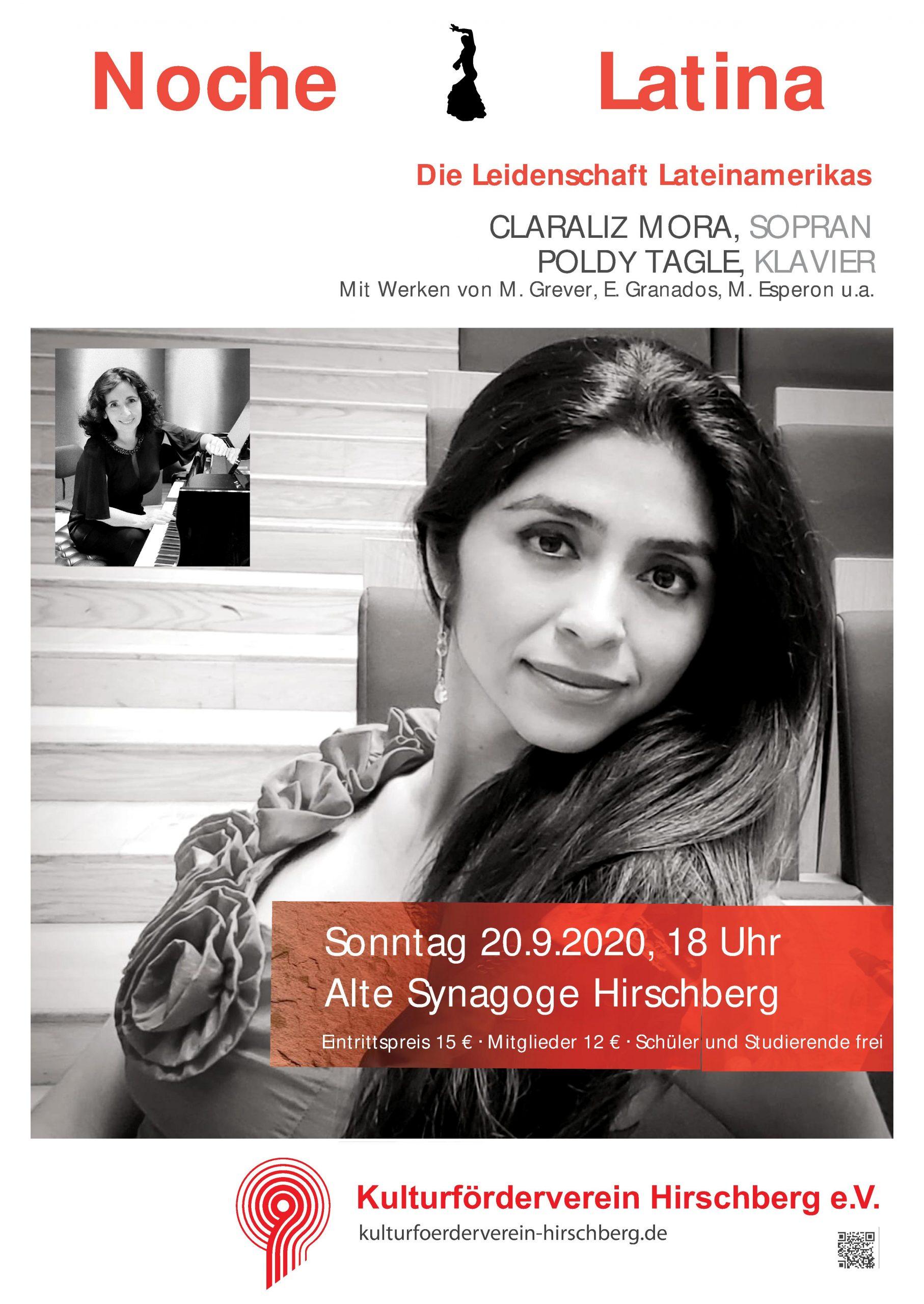 Konzert __________________________ NOCHE LATINA @ Alte Synagoge Hirschberg | Hirschberg an der Bergstraße | Baden-Württemberg | Deutschland
