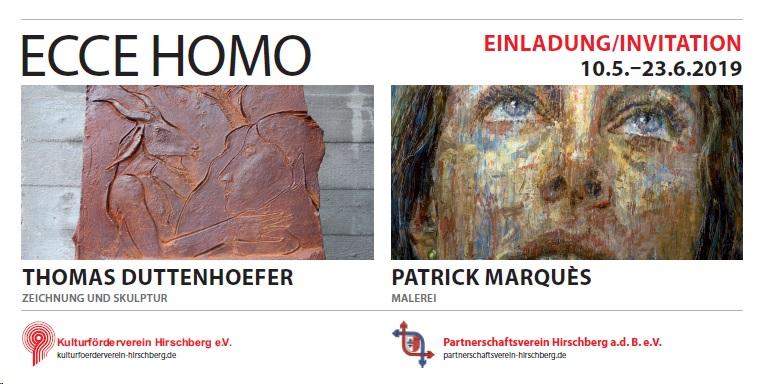 Vernissage ___________________________ ECCE HOMO @ Bürgersaal des Rathauses