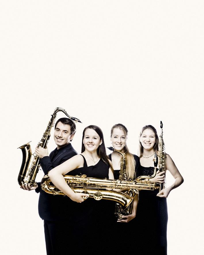 Ebonit-Saxophone-Quartet ________________________________ Far From Home @ Alte Synagoge Hirschberg | Hirschberg an der Bergstraße | Baden-Württemberg | Deutschland